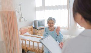 介護施設でパート勤務